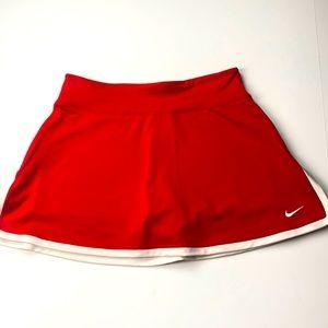 Nike Skort Dri-Fit Red Size M